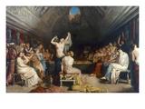 Tepidarium, 1853 Posters by Theodore Chasseriau