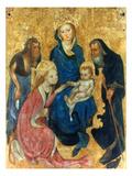 Besozzo: St. Catherine Posters by Michelino Da Besozzo