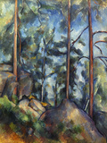 Cezanne: Pines, 1896-99 Giclee Print by Paul Cézanne