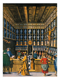 Parisian Pharmacy, 1624 Prints