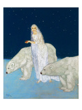 Dulac: The Ice Maiden, 1915 Giclee Print by Edmund Dulac