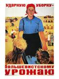 Russia: Collective Farm Prints by Maria Voron