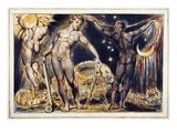 Blake: Jerusalem, 1804 Poster by William Blake