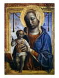Madonna Of The Book Prints by Vincenzo Foppa