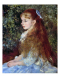 Renoir: Mlle D&#39;Anvers, 1880 Giclee Print by Pierre-Auguste Renoir