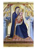 Lorenzetti: Madonna Prints by Pietro Lorenzetti