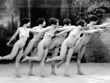 Allen: Chorus Line, 1920 Photographic Print by Albert Arthur Allen