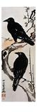 Japanese Print: Crow Giclee Print by Kawanabe Kyosai