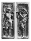 Musician Angels, C1450 Art by  Donatello