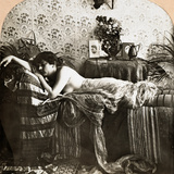 Sleeping Beauty, C1900 Photographic Print