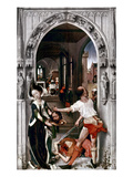 Saint John The Baptist Giclee Print by Rogier van der Weyden