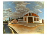 Rousseau: Factory, C1897 Prints by Henri Rousseau