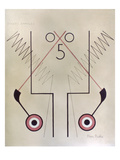 Picabia: Tickets, C1920 Prints by Francis Picabia