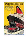 Lms Express/Cunard Poster Posters