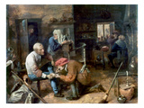 Village Barber-Surgeon Giclee Print by Adriaen Brouwer