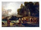 West: Telemachus Print by Benjamin West