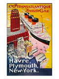 Steamship Poster, 1930S Posters
