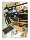 Raoul Hausmann: Abcd, 1923 Giclee Print by Raoul Hausmann