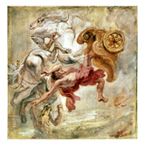 Rubens: Fall Of Phaeton Giclee Print by Peter Paul Rubens