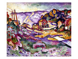 Braque: L&#39;Estaque, 1906 Giclee Print by Georges Braque