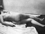 Reclining Nude, 1902 Photographic Print by Fritz W. Guerin