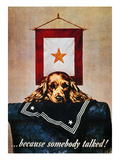 WWII: Propaganda Poster Giclee Print