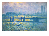 Monet: Charing Cross Giclee Print by Claude Monet