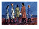 Valenti: Lunatics, 1941 Giclee Print by Italo Valenti