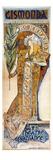 Bernhardt: Mucha Poster Giclee Print by Alphonse Mucha