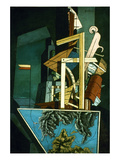Chirico: Melancolie. Giclee Print by Giorgio De Chirico