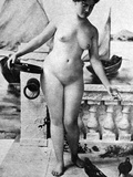 Nude In Venice, 1902 Photographic Print by Fritz W. Guerin