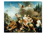 Rape Of Europa Giclee Print by Francois Boucher