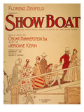 Show Boat Poster, 1927 Prints