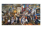 Mexico: 1810 Revolution Giclee Print by Juan O'Gorman