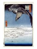 Hiroshige: Edo/Eagle, 1857 Giclee Print by Ando Hiroshige