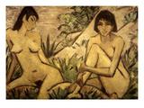 Mueller: Nudes, 1924 Prints by Otto Mueller