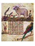 Zodiac Sign: Aries, 1716 Giclee Print