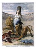 Rome: Christian Martyrs Prints