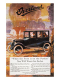 Automobile Ad, 1920 Giclee Print