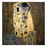 Klimt: The Kiss, 1907-08 Giclee Print by Gustav Klimt