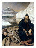 Henry Hudson And Son Giclee Print by John Collier