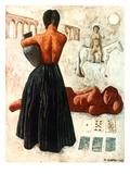 Campigli: Gypsies, 1928 Giclee Print by Massimo Campigli