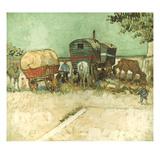 Van Gogh: Gypsies, 1888 Posters by Vincent van Gogh