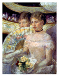 Cassatt: The Loge, 1882 Prints by Mary Cassatt