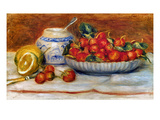 P.A. Renoir: Strawberries Giclee Print by Pierre-Auguste Renoir