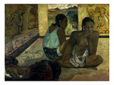 Gauguin: Te Rerioa, 1897 Giclee Print by Paul Gauguin