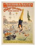Coney Island Carnival, 1898 Giclee Print