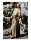 St. Francis Of Assisi Giclee Print by Giovanni Bellini