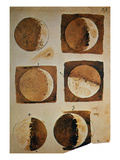 Galileo: Moon Giclee Print by Galileo Galilei
