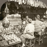 Japan: Shoe Store, C1910 Photographic Print